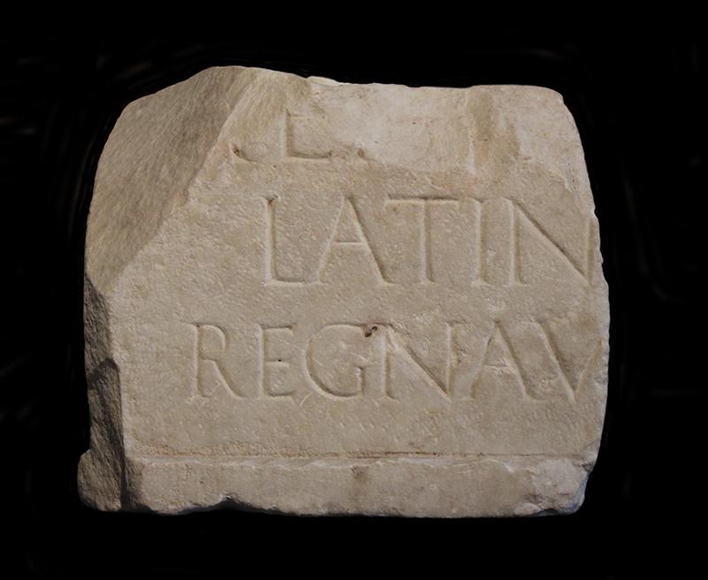 Aeneas-Inschrift