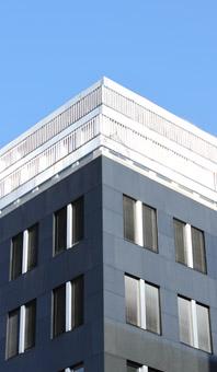 Ecke des Gebäudes